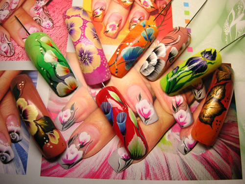 Фото ногтей дизайн по росписи